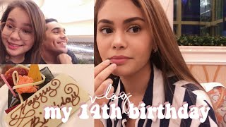 VLOG: my 14th birthday