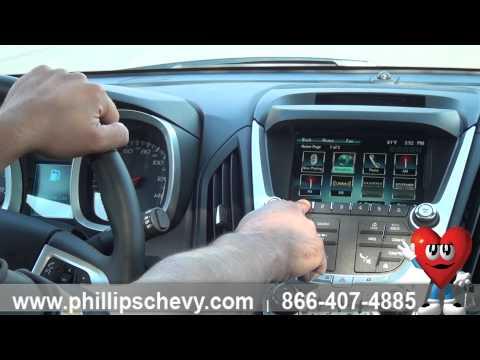 Phillips Chevrolet - Chevy Equinox - Radio Favorites - Chicago Dealership New Car Sales