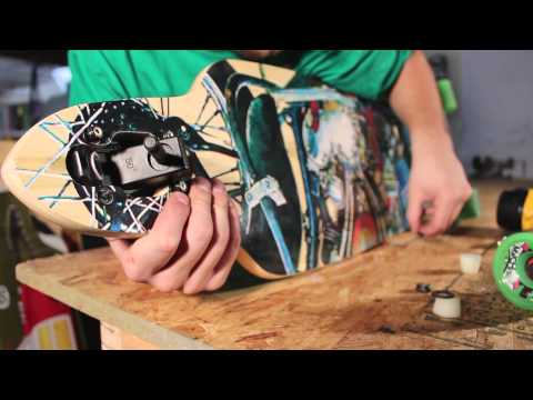 How to Set up a Longboard: Deville Skateboards