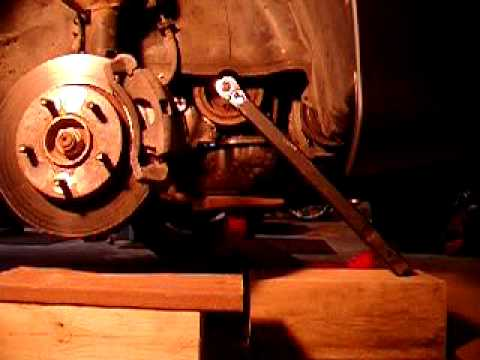 Easy way to remove a stubborn crankshaft pulley bolt