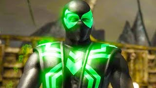 Mortal Kombat XL - Big Time Spider-Man Ermac Costume Skin Mod Performs Intros On Alll Stages Mods