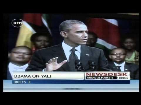US President Barrack Obama to set up a leadership forum in Kenya