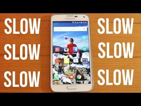 Samsung Galaxy S5 Lollipop Very Slow After Update