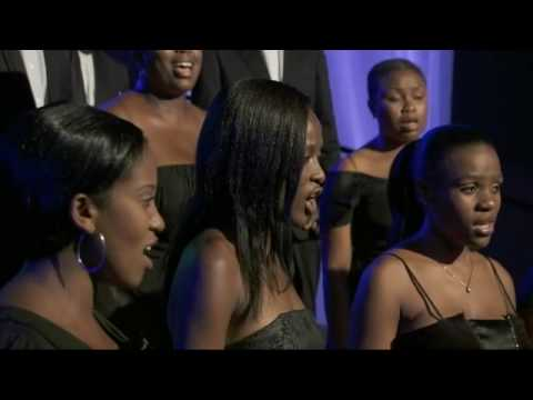 Cape Festival, March 2010: Michael Dingaan with the Chamber Choir of South Africa