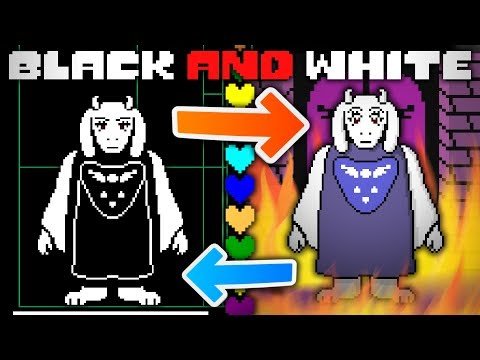 The Real Reason Why UNDERTALE Is Black And White! Undertale Theory | UNDERLAB