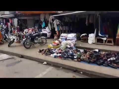 Marché Central Douala Cameroun.