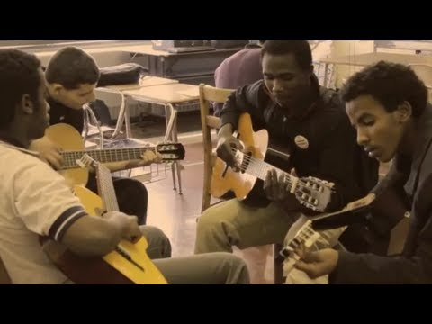 Swift Guitar Lessons at South Philadelphia High School - Season Two