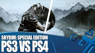 Skyrim Special Edition - PS3 versus PS4 Graphics Comparison
