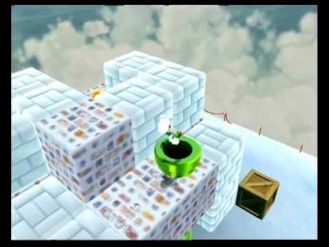 Super Mario Galaxy 2 - Freezy Flake Galaxy - Bowser on Ice - 54.33