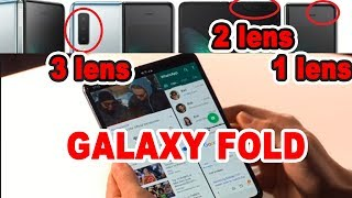 samsung galaxy fold all about fold and s10 in hindi by Tech future