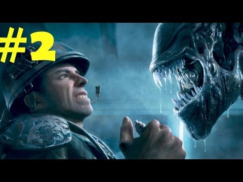 Aliens Colonial Marine Walkthrough Part 2 Gameplay Review [HD] PC/PS3/XBOX 360 NukemDukem