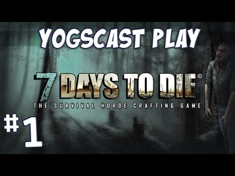 7 Days to Die Zombie Minecraft Part 1 How To Survive The First Night