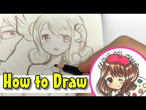 Drawing Fairy Tail 6  ARIES AND LEO (How to draw anime for beginners)
