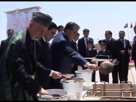 Full Report - President Karzai's visit to Turkmenistan