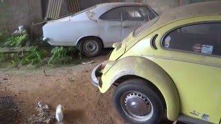 Opala, Caravan, Carros Antigos Abandonados