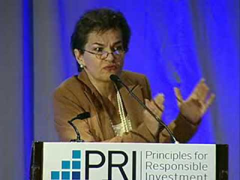 Christiana Figueres at PRI in Person, Montreal 2014