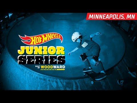 Minneapolis MN Skate Hightlights - Hot Wheels Junior Series