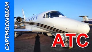 ATC Live Cessna Citation XLS Flight to Napa Valley California and Pueblo Co