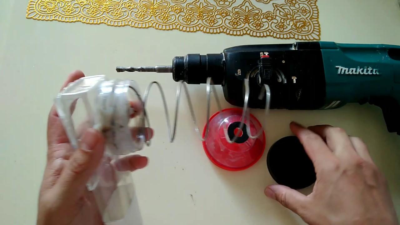 Пылесборник для перфораторов своими руками 46