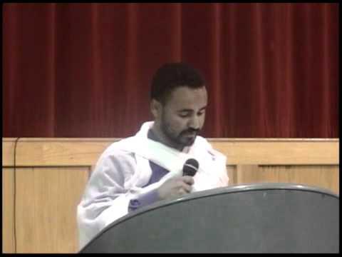 Ethiopian Orthodox Deacon Daniel Kibret sebket ፀሐይ ቆመ ጨረቃም ዘገየ Part 2 of 2