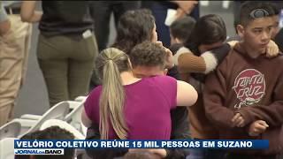 Velório coletivo de vítimas de massacre em Suzano reúne 15 mil