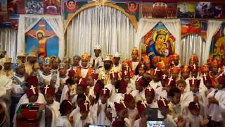 Ethiopian Orotodox Farewell to our Church Father (Berlin)