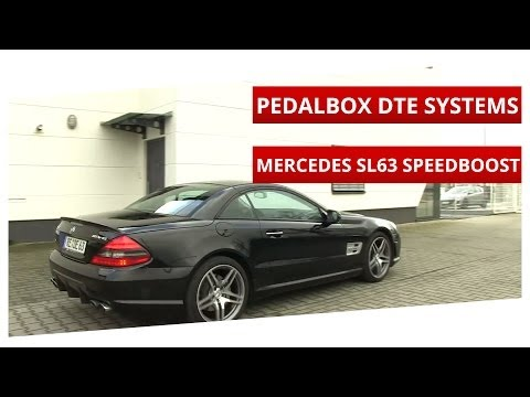 Making the Mercedes SL 63 AMG faster. the PedalBox!