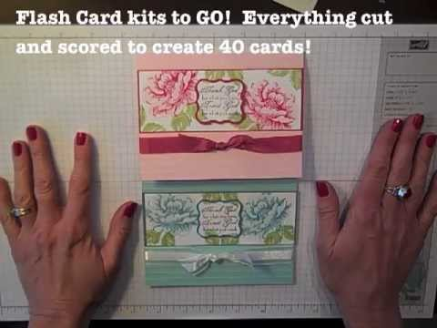 Simply Simple Flash Cards 2 0 Stippled Blossoms By