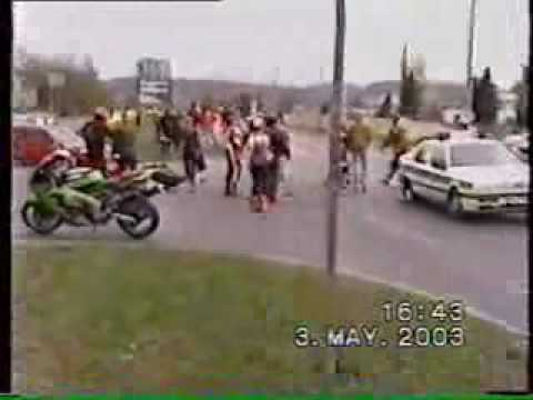Biker vs Polizei, poor Police :D Music Videos