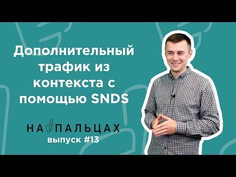 Дополнительный трафик из контекста с помощью SNDS — На Пальцах #13 (Netpeak)
