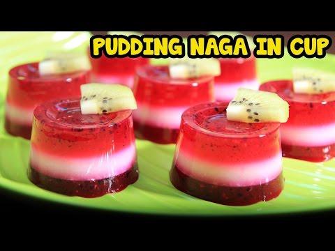 Cara Membuat Pudding Naga In Cup
