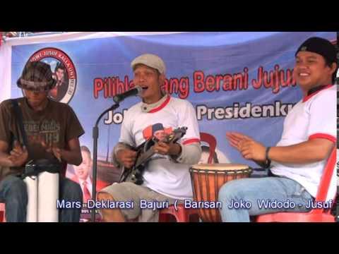 Mars Bajuri ( Barisan Joko WIdodo-Jusuf Kalla Untuk RI) Palembang