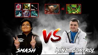 Centaur Warrunner Smash vs MinD_ContRol Pugna CRAZY OFFLANE (7.19b)