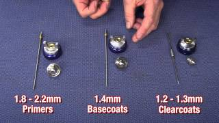 Simple Tips For Painting A Car - HVLP Paint Gun Needle & Nozzles Explained - Eastwood