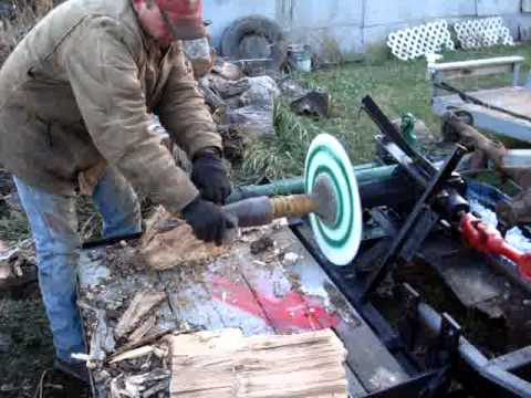 Unicorn Log Splitter Screw Type Tractor How To Save
