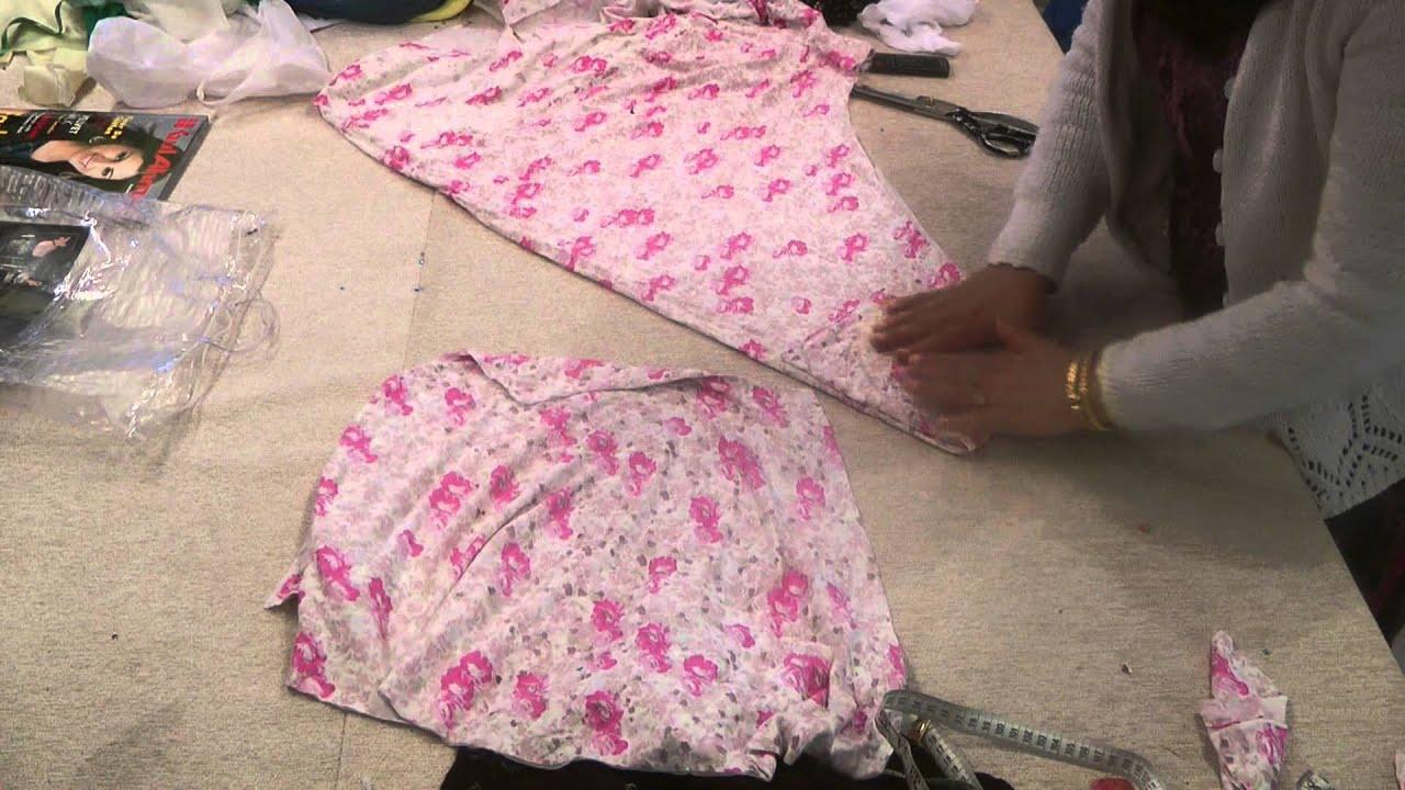 Umbrella Dress: Cutting And Explanation - YouTube
