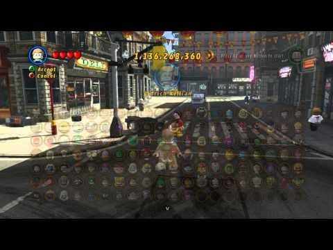 LEGO Marvel Super Heroes The Video Game - The Mandarin free roam