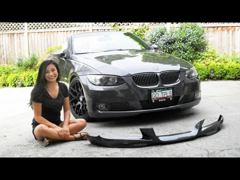 How to Install a Front Lip Spoiler - BMW 335 M-Tech Aero Lip DIY E92/ E93