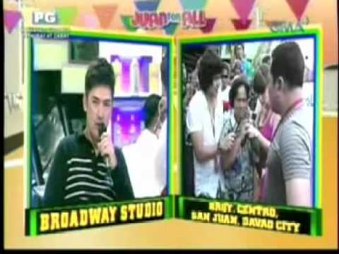 PAULEEN LUNA NAG COLLAPSED ON AIR (FEB 13, 2012) sa JUAN 4 ALL, ALL 4 JUAN PART 2