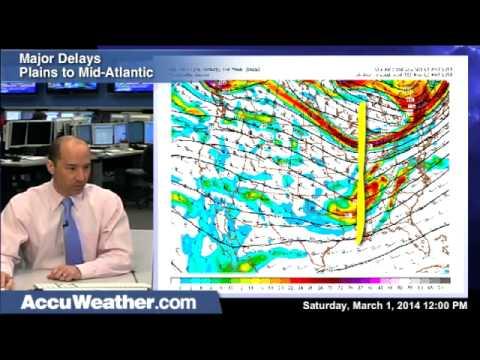 March 2-3, 2014 Snowstorm Plains to NorthEast