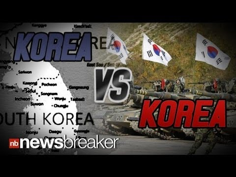KOREA VS. KOREA: North and South Go Head to Head Over a Military Drill