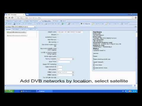 How to configure Tvheadend for TBS MOI streaming box