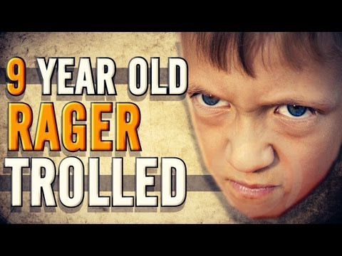 9 YEAR OLD RAGER TROLLED!