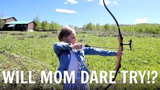 WILL MOM DARE TO TRY THIS?! MOVING TO THE MOUNTAINS!