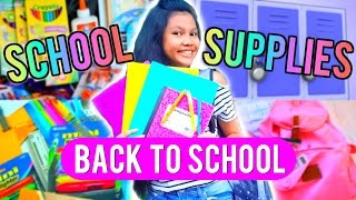 Back To School Supplies Haul 2015 + Giveaway