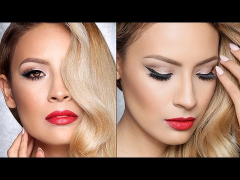 Classic Hollywood Makeup Tutorial (Talk Through)