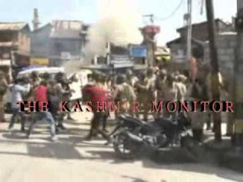 Clashes erupt in Nowhata Srinagar