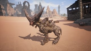 Taming Rocknoses in Conan Exiles