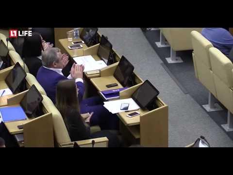 Отец САШИ СПИЛБЕРГ показал Ж@ПУ депутатам ГОСДУМЫ