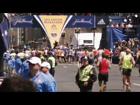 2014 Boston Marathon Highlights